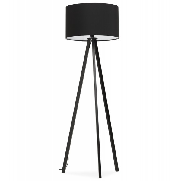 lampadaire design style scandinave trivet noir noir. Black Bedroom Furniture Sets. Home Design Ideas