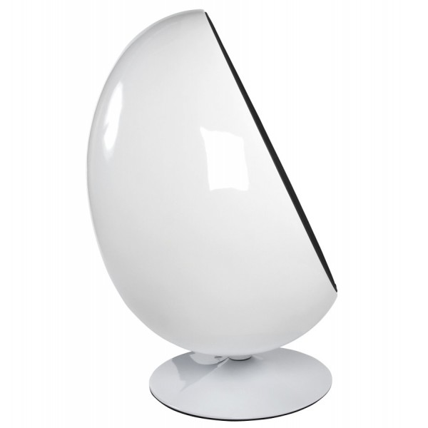 Merveilleux ... White And Black Egg Chair UOVO ...