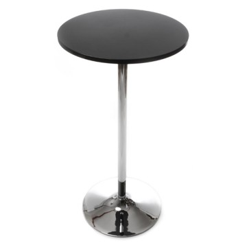 Eat standing table or high side table LILA (BLACK)