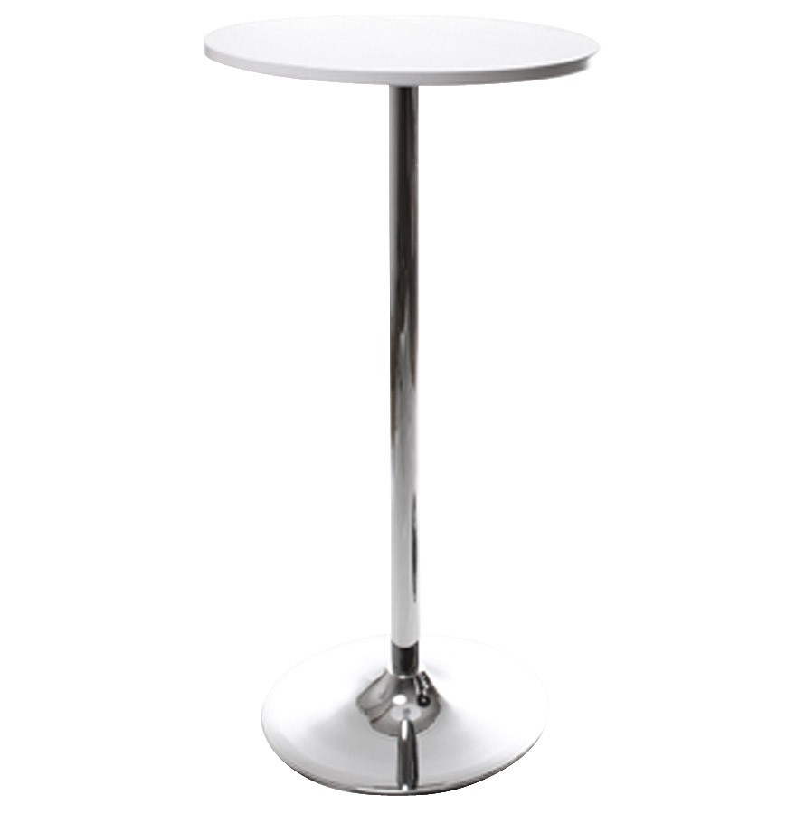 Eat Standing Table Or High Side Table LILA (WHITE)