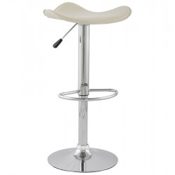 Design and adjustable CREAM bar stool TRIO