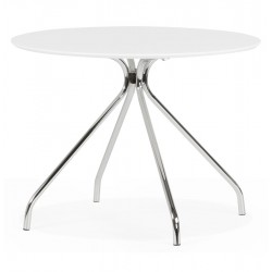 Round table discreet, practical and resistant BELLA