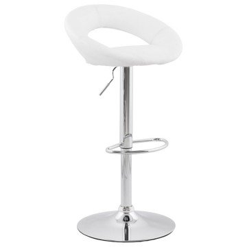 Tabouret de bar confortable et robuste ATLANTIS (BLANC)