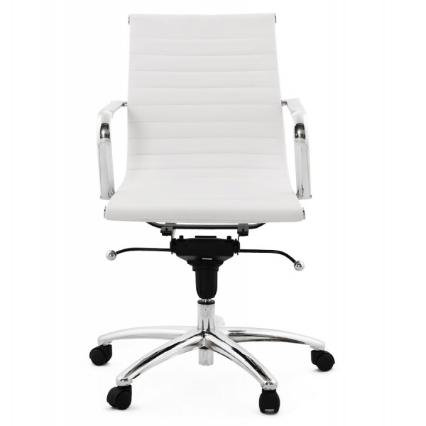 Miraculous Swivel And Adjustable White Office Chair Michelin Ibusinesslaw Wood Chair Design Ideas Ibusinesslaworg