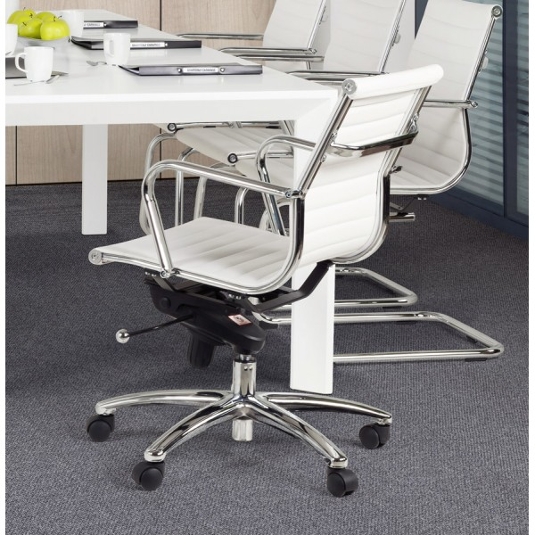 Awesome Swivel And Adjustable White Office Chair Michelin Ibusinesslaw Wood Chair Design Ideas Ibusinesslaworg