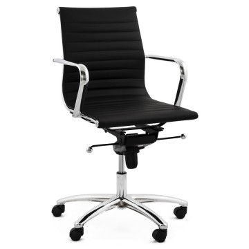 Swivel and adjustable BLACK office chair MICHELIN