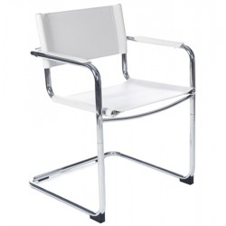 WHITE Multi-use chair WELCOME
