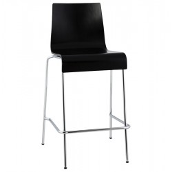 Stacking BLACK barstool small format version COBE