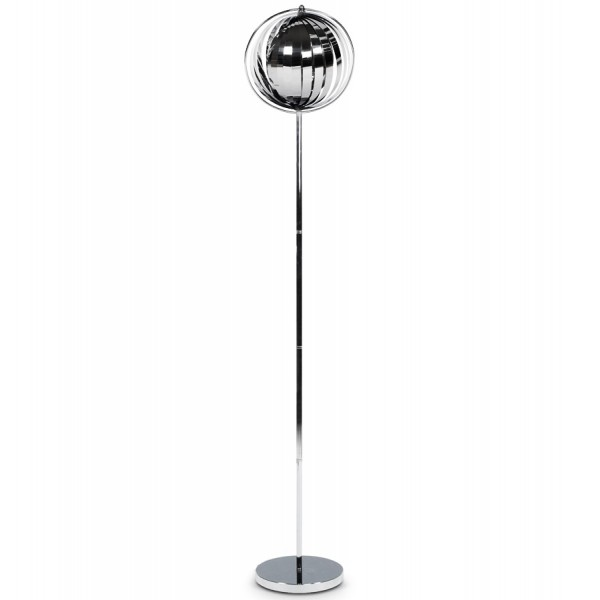 lampadaire original et tendance nina big chrome vistadeco. Black Bedroom Furniture Sets. Home Design Ideas