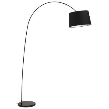 Arched BLACK floor lamp KAISER