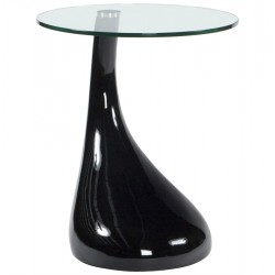 Design BLACK side table TEAR