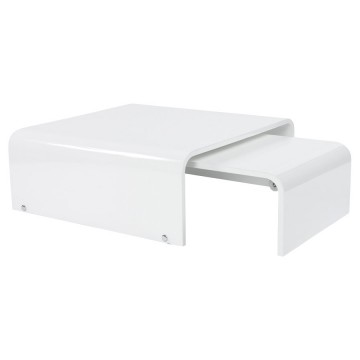 Adjustable coffee table ROL (WHITE)