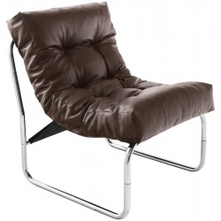 Lounge and comfortable armchair BOUDOIR (BROWN)