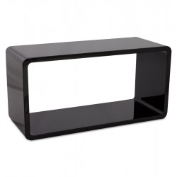 Multi-use BLACK coffee table RECTO