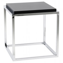 Storage cube or side table KVADRA (BLACK)