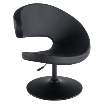 Rotating and adjustable armchair MARRAZO (BLACK)
