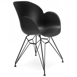 Chaise design UMELA (NOIR)