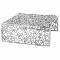Design aluminum coffee table URANUS