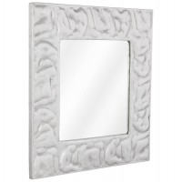Nice designer and trend mirror in polished aluminum ARCHIMEDE