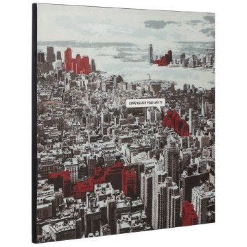 Printed canvas VIEW