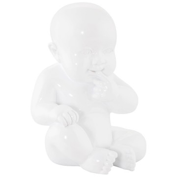 WHITE Baby statuette SWEETY