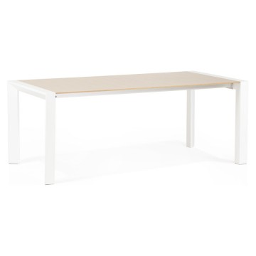 Sturdy and practical scandinavian dining table FJORD