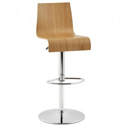 Design bar stool MADEIRA (NATURAL)