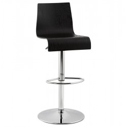 Design BLACK bar stool MADEIRA