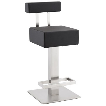 Design fixed BLACK barstool NOBLE MINI