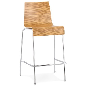 Stacking ZEBRA barstool small format version COBE