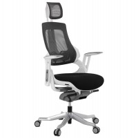 Black office chair, strong and reclining SALYUT