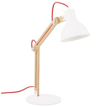 Design WHITE lamp with moving head BOT
