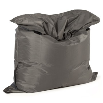 Dark grey beanbag big format with chic trendy design FAT