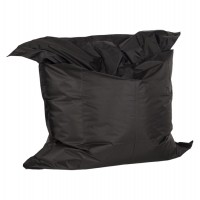 Comfortable and design black beanbag, with strong cover