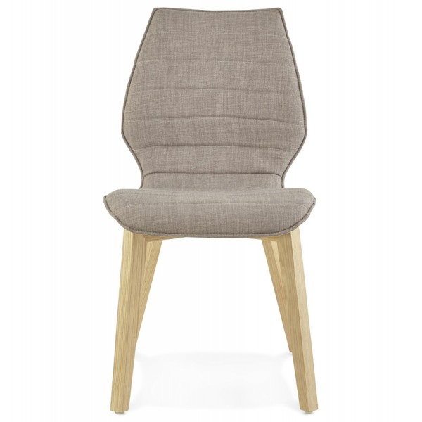 Image 2 Chaise Grise Au Design Scandinave HARDY