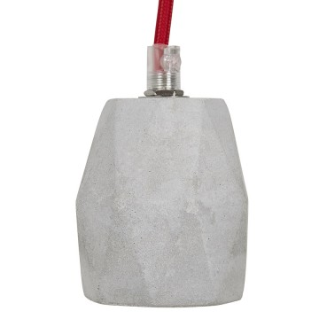 Trendy grey hanging lamp ATUPAKA