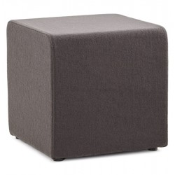 Dark grey footstool or footrest FORMO