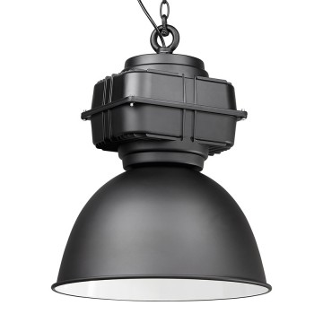Black metal lamp suspension TEOL