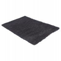 Trendy black carpet 120 x 170 COZY