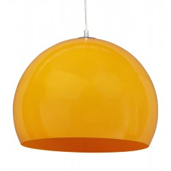 Vintage orange ceiling light KYPARA