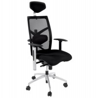 Ergonomic black office chair with multiple settings for maximum comfort