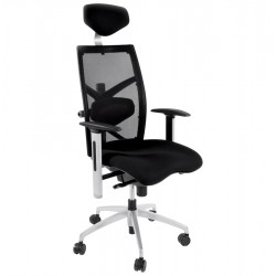 Ergonomic and comfortable BLACK office chair MIT
