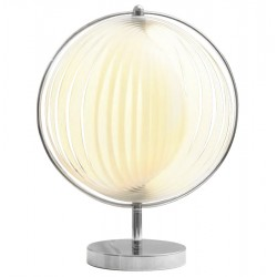 Pretty white auxiliary lamp NINA SMALL