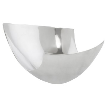 Beautiful bowl in polished aluminium ELMA