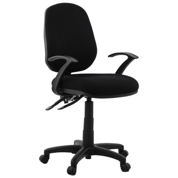 Adjustable black office chair BETSY