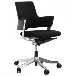 Strong an ergonomic BLACK office chair RAY