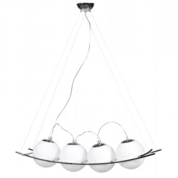 Modern and elegant hanging lamp LOK (WHITE)