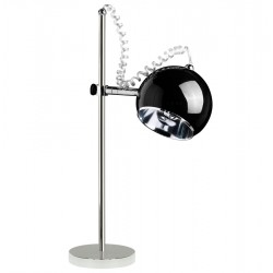 Adjustable and orientable BLACK designer lamp MOON