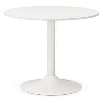 Table ronde BLANCHE design REKON