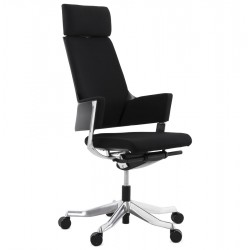 Black office chair ergonomic and enveloping EDWARDS